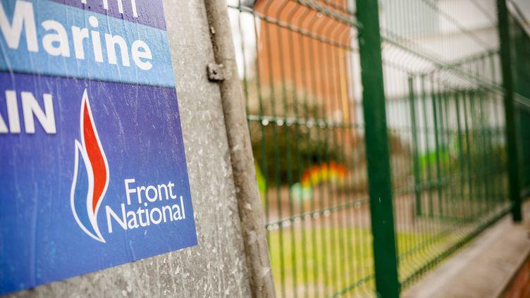 Le Front national a promis de sanctionner tous les dérapages des candidats durant la campagne des départementales. (AURÉLIEN MORISSARD / CITIZENSIDE)