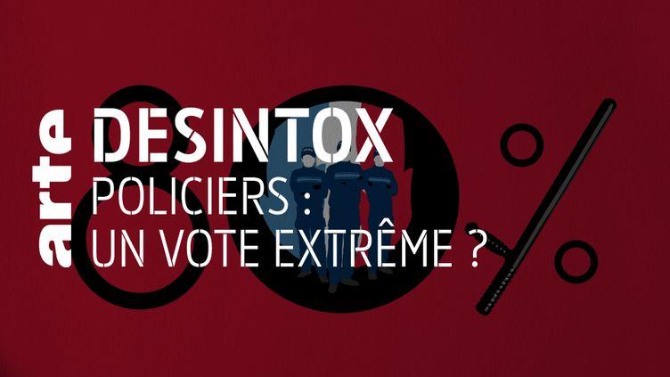 Désintox. Non, la majorité des policiers accusés de violences ne vote pas extrême droite. (ARTE/LIBÉRATION/2P2L)