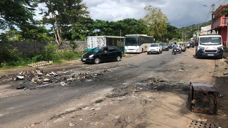 Les scènes les plus virulentes se sont déroulées à Tsoundzou (Mayotte). (AURELIEN FEVRIER)