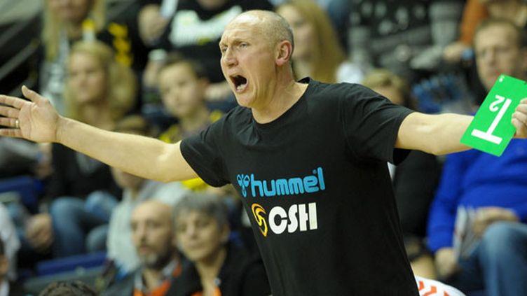 L'entraîneur de Chambéry, Laurent Munier