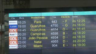 Dès mercredi 14 avril, plus aucun vol direct ne pourra relier la France et le Brésil. (CAPTURE D'ÉCRAN FRANCE 2)