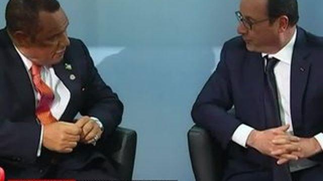 Aux Antilles, François Hollande lance une opération reconquête