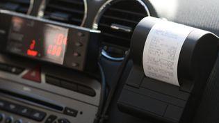 Une facture de taxi pour obtenir une note de frais. (MAXPPP)