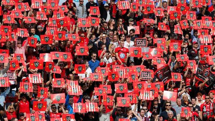 (Les supporteurs du RC Toulon ont rendez-vous à Twickenham le 2 mai prochain pour une finale de Coupe d'Europe 100% française contre Clermont © Maxpp)