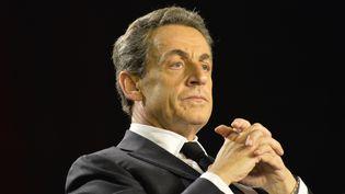 Nicolas Sarkozy, le 9 mars 2015, àSaint-Maur-des-Fossés (Val-de-Marne). (CITIZENSIDE/FRANCOIS PAULETTO / AFP)