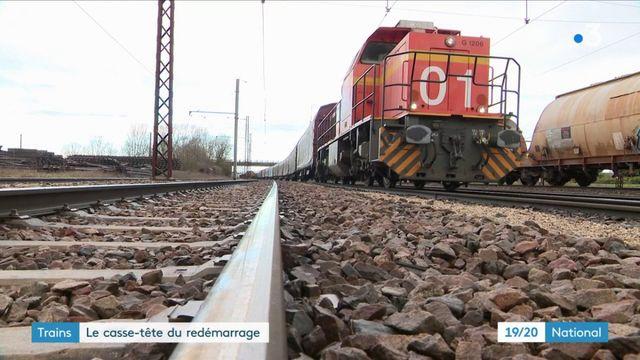Trains : le casse-tête du redémarrage