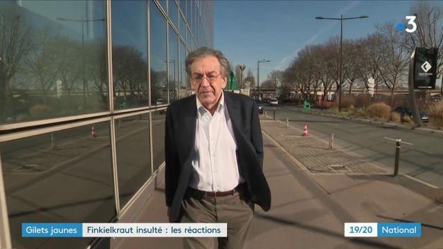 Finkielkraut insulté : la classe politique monte au créneau