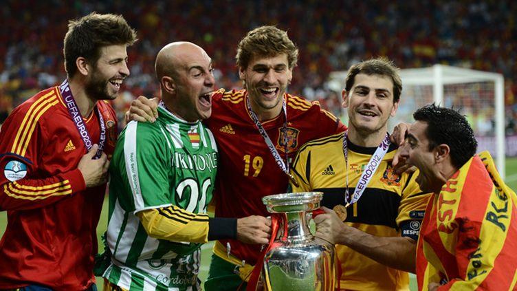 Piqué, Reina, Casillas et Xavi heureux: l'Espagne a triomphé