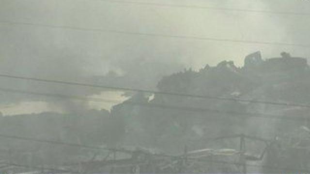 Chine : les évacuations se poursuivent à Tianjin
