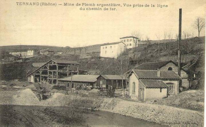 L'ancienne mine de plomb de Ternand (Rhône). (DR)