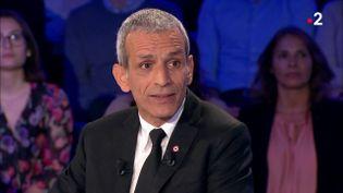 """L'ancien député socialiste Malek Boutih, sur le plateau de l'émission """"On n'est pas couché"""", sur France 2, le 19 mai 2018. (ON N'EST PAS COUCHE / FRANCE 2)"""