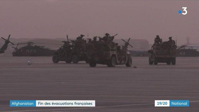 Afghanistan : les évacuations françaises prennent fin