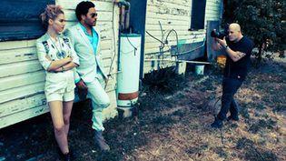 Campagne Eleven Paris été 2013 avec Lenny Kracitz et Charlotte Free  (Renaud Corlouër)