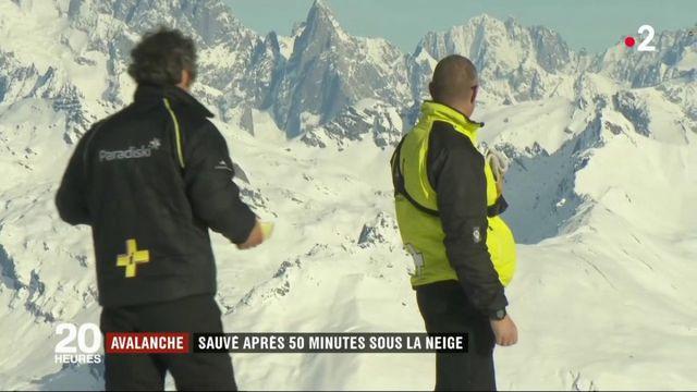 Savoie : un garçon survit miraculeusement à une avalanche