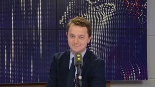 Maël de Calan, candidat à la présidence des Républicains. (JEAN-CHRISTOPHE BOURDILLAT / RADIO FRANCE)