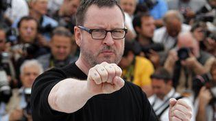 Le réalisateur Lars Von Trier, durant le 64e Festival de Cannes, le 18 mai 2011. (FRANCOIS GUILLOT / AFP)
