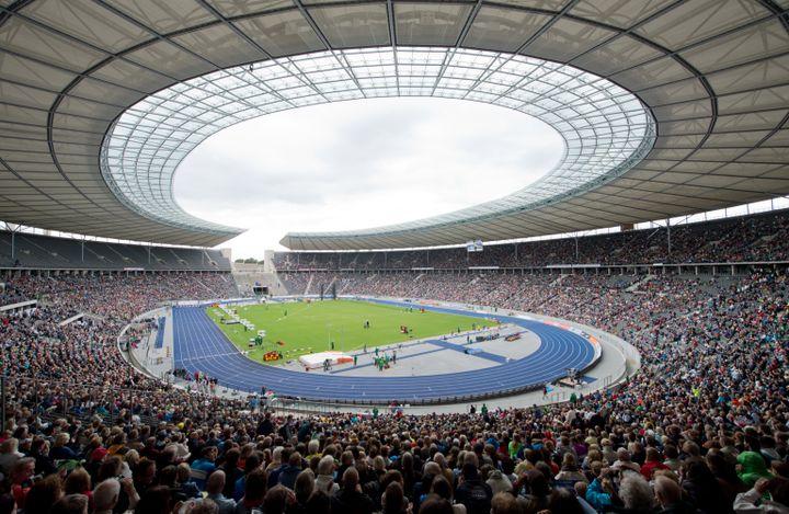 Le stade olympique de Berlin (SOEREN STACHE / DPA)