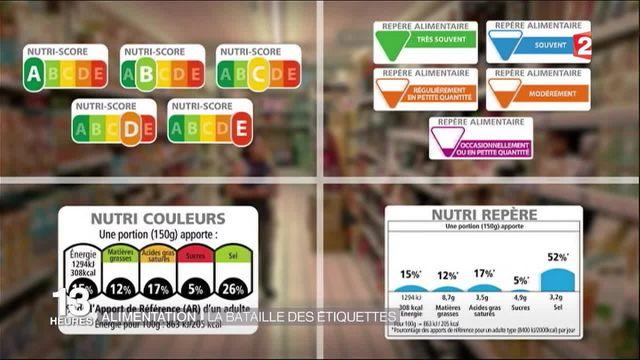 Alimentation : la bataille des étiquettes
