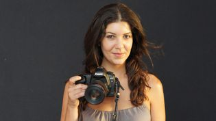 La photographe Leïla Alaoui ici en 2011.  (STRINGER / HANDOUT / AFP)