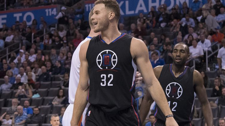 Le joueur des Clippers, Blake Griffin (J PAT CARTER / GETTY IMAGES NORTH AMERICA)