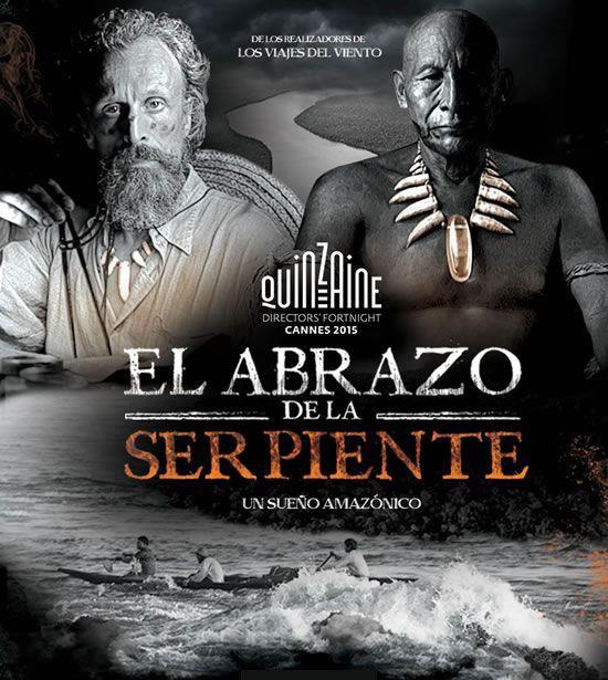 """L'affiche du film """"El abrazo de la serpiente""""  (DR)"""
