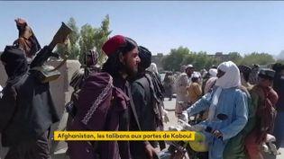 Des talibans. (France 2)