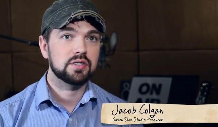 Jacob Colgan, le producteur  (Green Shoe Studio)
