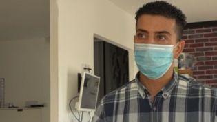 Karim Hamiti a perdu sa femme de 35 ans à cause du coronavirus (France 2)