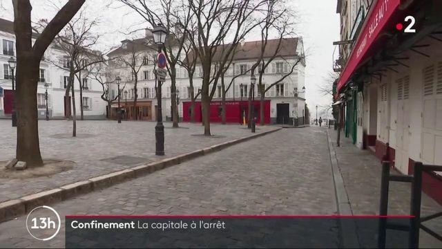 Coronavirus : Paris est désertée pour le confinement général