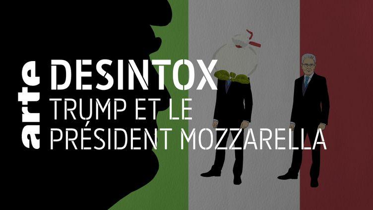 Désintox. Non, Donald Trump n'a pas appelé le chef d'État italien « président Mozzarella » (ARTE/LIBÉRATION/2P2L)