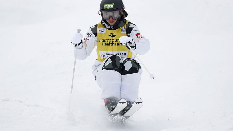 Perrine Laffont à Deer valley, le 4 février 2021. (TOM PENNINGTON / GETTY IMAGES NORTH AMERICA)