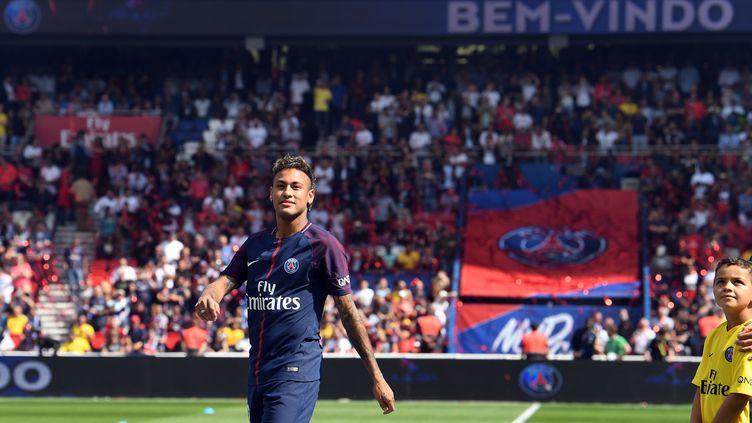 Neymar au Parc des princes (ALAIN JOCARD / AFP)