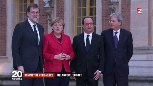 Sommet de Versailles : relancer l'Europe après le Brexit
