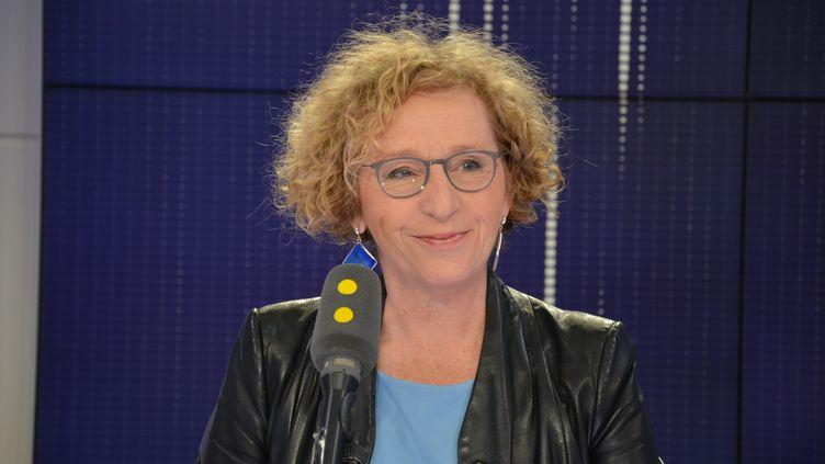 Muriel Pénicaud – ministre du Travail. (JEAN-CHRISTOPHE BOURDILLAT / RADIO FRANCE)
