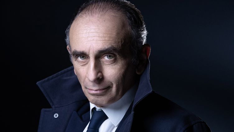 Le polémiste Éric Zemmour, le 22 avril 2021. (JOEL SAGET / AFP)