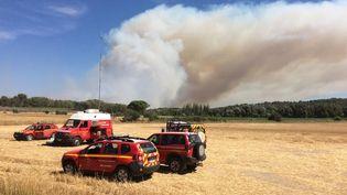 Incendies en Bouches-du-Rhône, samedi 15 juillet. (SDIS 13 - Twitter)