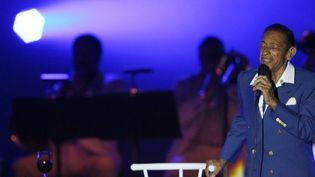 Henri Salvador en concert  (VALERY HACHE / AFP)