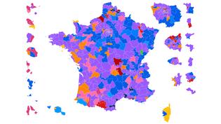 CARTE. Législatives : découvrez les résultats du second tour dans votre circonscription (NICOLAS ENAULT / CARTO)