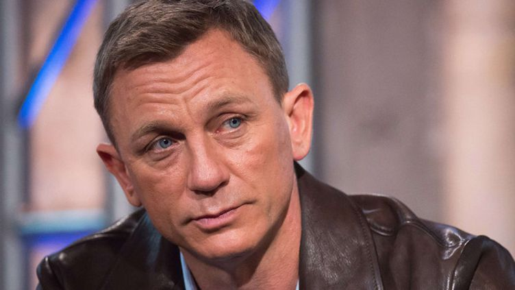 """Daniel Craig en promotion de """"Spectre"""" à New York, le 25 novembre 2015  (Charles Sykes / AP / Sipa)"""