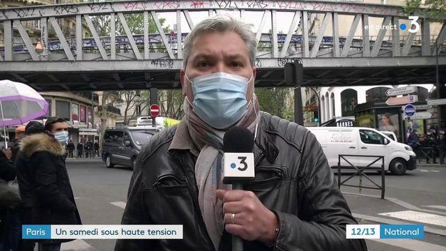 Manifestations : un samedi sous haute-tension à Paris