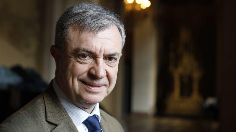 Jean-Pierre Lecoq, maire (LR) du VIe arrondissement de Paris, en janvier 2020. (OLIVIER CORSAN / MAXPPP)