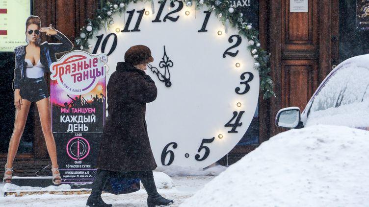 A Moscou le 15 janvier 2019 (KIRILL KUDRYAVTSEV / AFP)