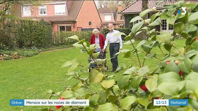 Grèves SNCF : menace sur les noces de diamant