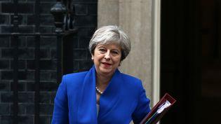 La Première ministre britannique Theresa May, le 19 juillet 2017, à Londres. (NEIL HALL / X02954)