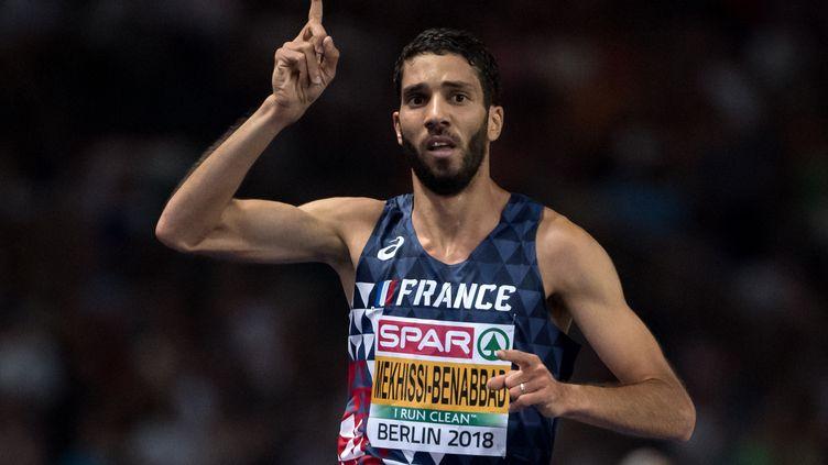 Le Français Mahiedine Mekhissi déclare forfait pour la finale du 5.000m (SVEN HOPPE / DPA)