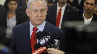 Benyamin Nétanyahou, le 29 mai 2019, à Jérusalem. (MENAHEM KAHANA / AFP)