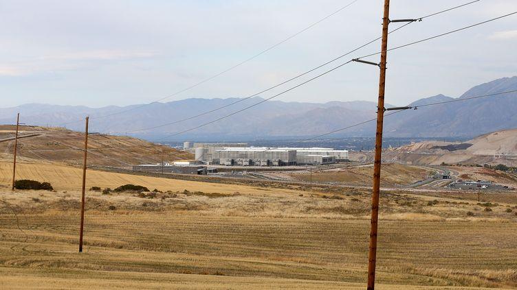 Un centre d'écoute de l'agence américaine NSA à Bluffdale (Etats-Unis), le 8 octobre 2013. (GEORGE FREY / GETTY IMAGES NORTH AMERICA)
