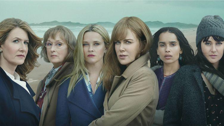 """Les six personnages féminins de """"Big Little Lies"""". (HBO)"""