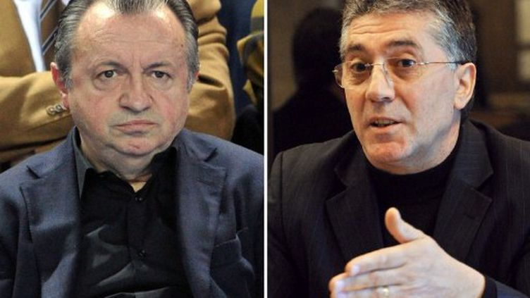Jean-Noël Guérini et Robert Navarro (montage) (AFP)