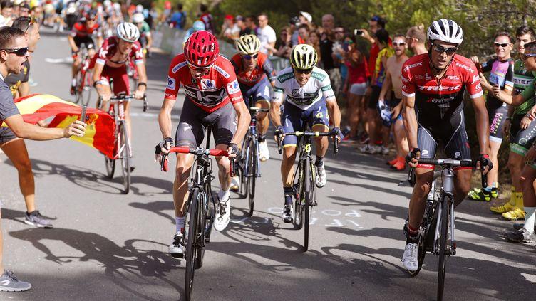 Chris Froome remporte la 9e étape de la Vuelta.  (DE WAELE TIM / TDWSPORT SARL)